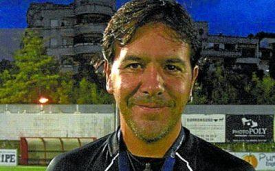 Txema Fraile, entrenador del Touring K.E.